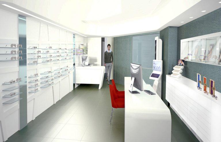 Arredamento negozi ottica edi design arredamenti per ottici for Negozi arredamento