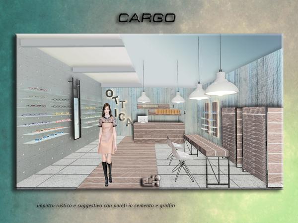 arredamento negozio ottica ATFOSFERE CARGO