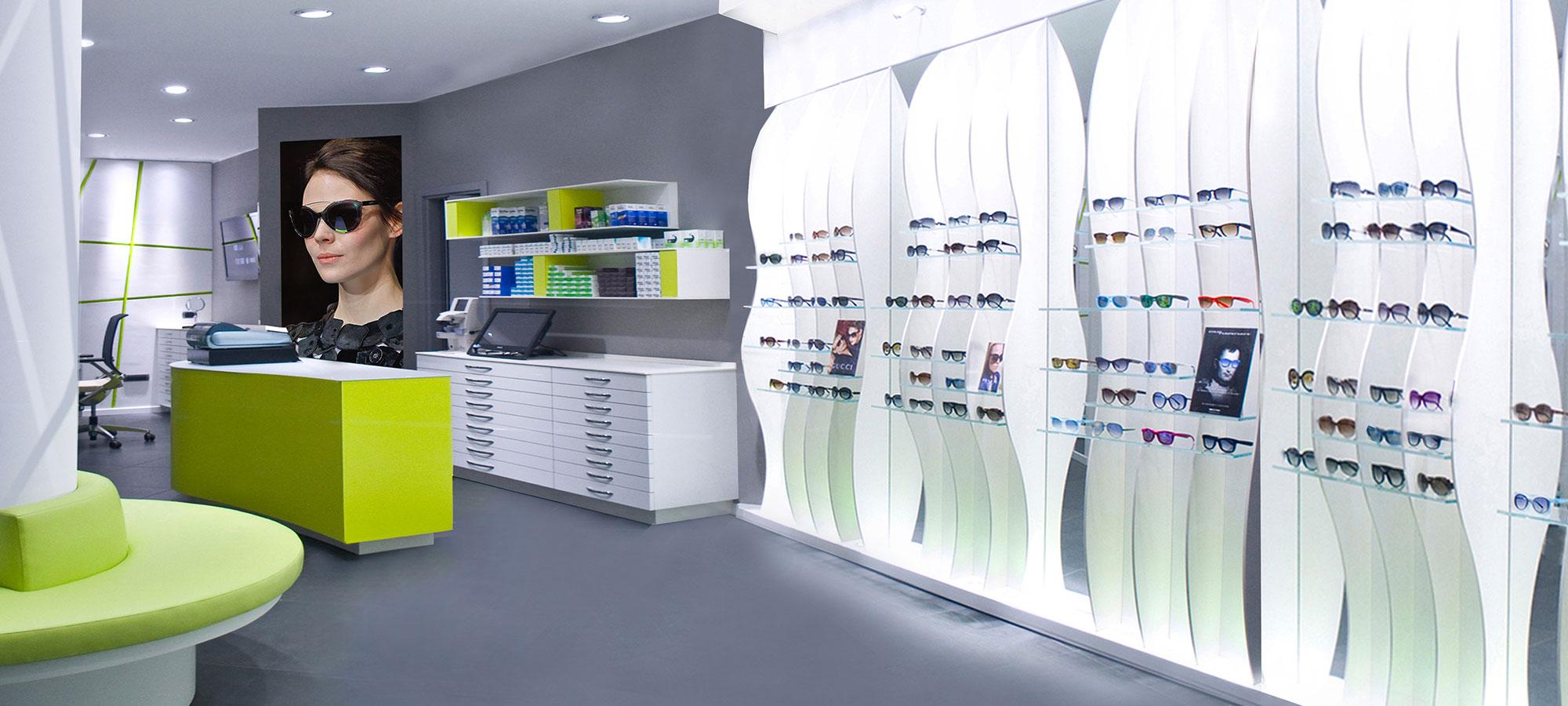 Arredamento negozi ottica edi design arredamenti per ottici for Negozi arredamento cantu