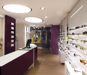 arredamento negozio ottica foto CERUTTI ERBA